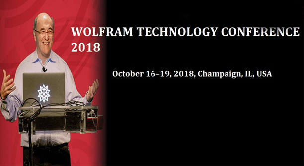Wolfram to Organize Wolfram Technology Conference 2018 in Champaign from Oct. 16-19